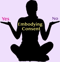 silhouette-Embodying Consent